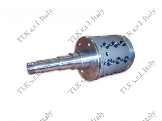 Brevetto TLK: testata bloccaggio ad espansione a comando pneumatico per bobine cartone